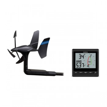 Garmin Gnx Wireless Wind Pack: Trasduttore Gwind Wireless 2, Display Gnx Wind