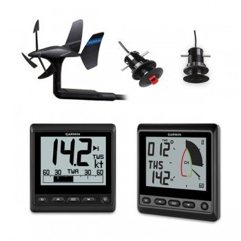Garmin Gnx Wireless 43 Pack: Trasduttore Gwind Wireless 2, Display    Gnx Wind, Gnx 20 E Trasduttori Gdt 43 E Gst 43