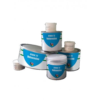 Stucco Poliestere Bicomponente 125 Ml
