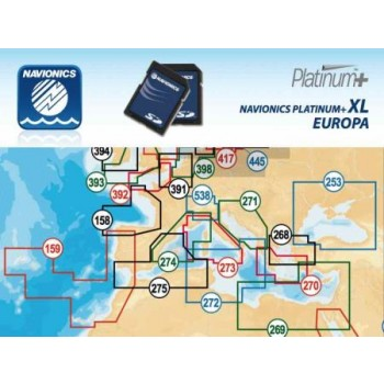 Navionics Platinum Secure Digital