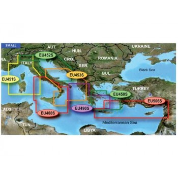 Garmin Small Area G2 Vision Hd - Veu460s - Sicily To Lido Di Ostia