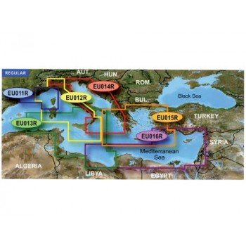 Garmin Regular Area G2 Vision Hd - Veu013r - Italy Southwest And Tunisia