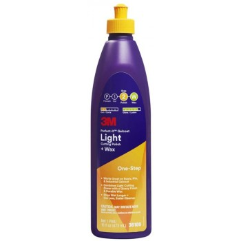 3m Perfect-it Gelcoat Light Cutting Compound Onestep Da 473ml