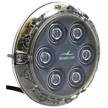 Piranha A 6 Led Blu P-6 12-v
