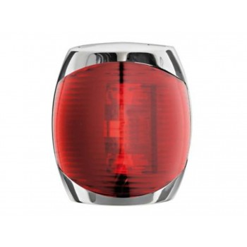 FANALE ROSSO 20-MT LED 12/24V -INOX-