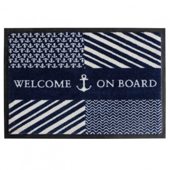 Tappetino Antiscivolo Navy Marine Business 70x50
