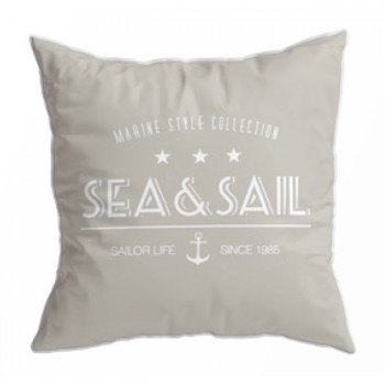Set 2 Cuscini- Sea&sail Beige, Santorini 40x40 Cm Marine Business