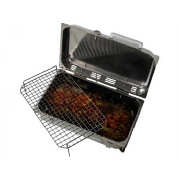 Barbecue Inox A Carbone