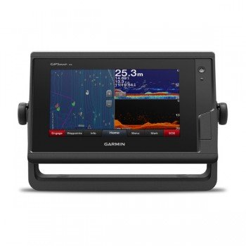 "Garmin Gpsmap 722xs Plus, Display 7"" Touchscreen Multifunzione Con Ecoscandaglio Integrato"