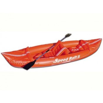 "CANOA GONFIABILE ""KAYAK SPEED RAFT II"" BEACH ART"