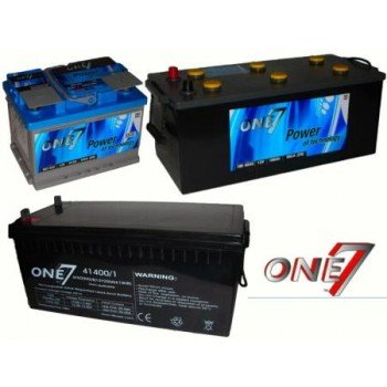 Batteria One7 Blue Gray 74 Ah