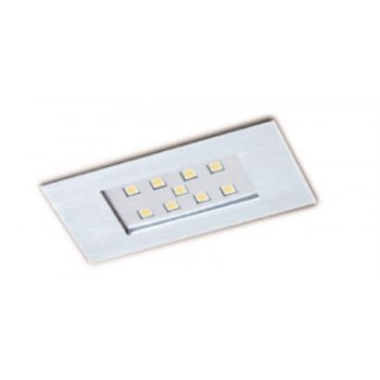 Faretto Alluminio 9 Led 92x48 Mm