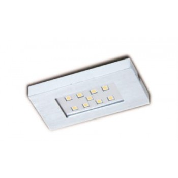 Faretto Alluminio 9 Led 100x52 Mm