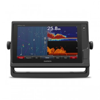 "Garmin Gpsmap 922xs Plus, Display 9"" Touchscreen Multifunzione Con Ecoscandaglio Integrato Con J1939"