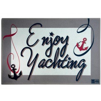 Tappeto Enjoy Yachting Marine Business 50x75 Cm