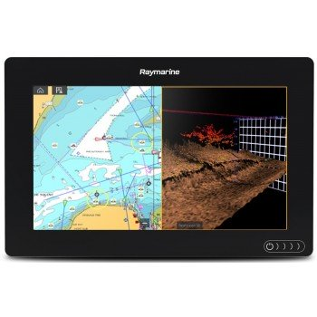 "Raymarine Axiom 9 Rv Display Multifunzione 9"" A Colori Wifi E Touch Con Fishfinder 600w, Down/side/3drealvision Integrati (no Cartografia)"