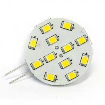 Dixplay G4 Dimmer 12smd Bianca/calda Backpin