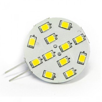 Dixplay G4 Dimmer 12smd Bianca/calda Sidepin
