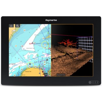 "Raymarine Axiom 12 Rv Display Multifunzione 12.1"" A Colori Wifi E Touch Con Fishfinder 600w, Down/side/3drealvision Integrati (no Cartografia)"