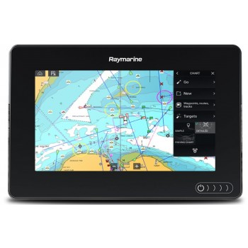 "Raymarine Axiom 7 Dv Display Multifunzione 7"" A Colori Wifi E Touch Con Fishfinder 600w & Downvision Integrati (no Cartografia)"