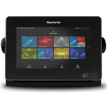 "Raymarine Axiom 7 Rv Display Multifunzione 7"" A Colori Wifi E Touch Con Fishfinder 600w, Down/side/3drealvision Integrati (no Cartografia)"