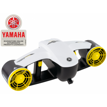 Seascooter Acqua Scooter Elettrico Yamaha Seawing Ii Next Generation Dpv Diver Propulsion Veichle Oled Screen Dual Thrusters White