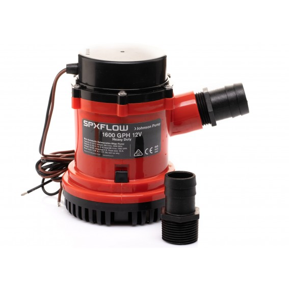 Heavy Duty 1600 GPH 12V Johnson Pump