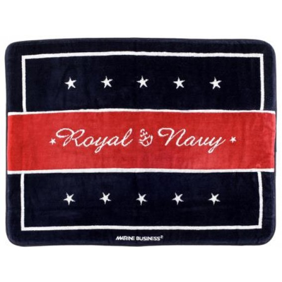 TAPPETO IN COTONE MARINE BUSINESS ROYAL RED 60X45 CM