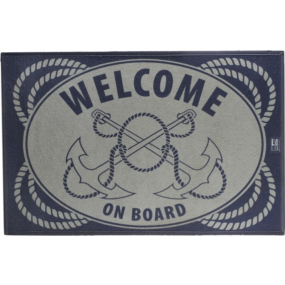 TAPPETINO MARINE BUSINESS WELCOME ON BOARD 75X50 CM