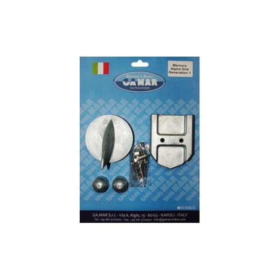 TECNOSEAL KIT IN ALLUMINIO MERCURY MERCRUISER ALPHA ONE GENERATION 1