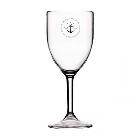 MARINE BUSINESS SET 6 BICCHIERI VINO SAILOR SOUL, Ø 7,5 cm, H 18,6 cm 300ml