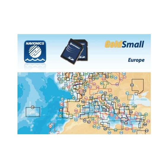 NAVIONICS GOLD SMALL SECURE DIGITAL