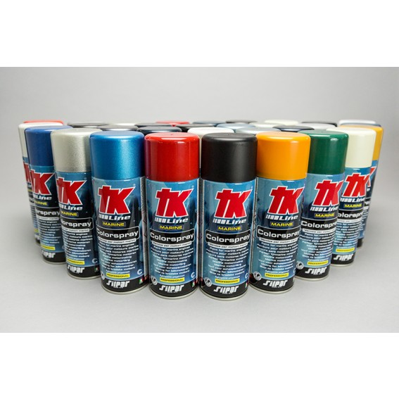 TK VERNICE SPRAY NERO METALLIZZATO SUZUKI ML 400