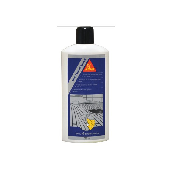 Sika Teak Oil Neutral da 0,5 lt