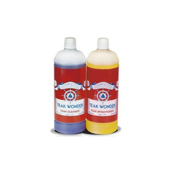 TEAK WONDER COMBO PAK CLEANER+BRIGHTENER